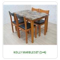 KOLLY MARBLE SET (1+4)
